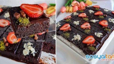 Gerçek Çikolatalı Islak Kek