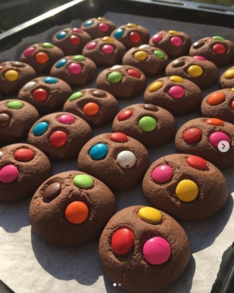 kakaolu bonibonlu kurabiye