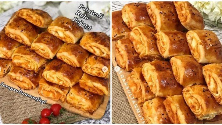 Patatesli Rulo Poğaça Tarifi