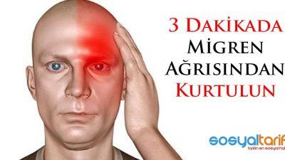 Migren Ağrısı Nasıl Geçer? 3 Dakikada Migren Ağrısından Kurtulun