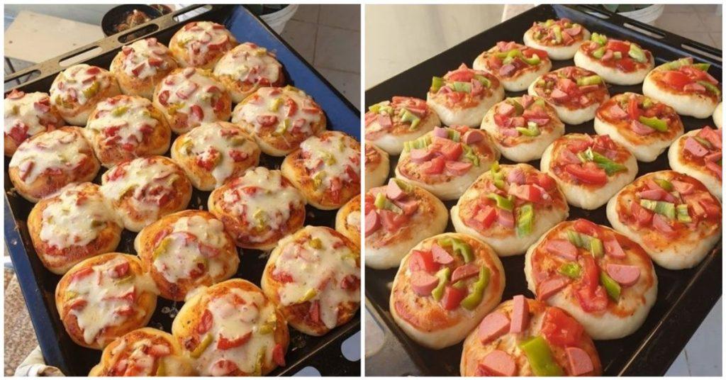 Kahvaltılık Mini Pizzalar