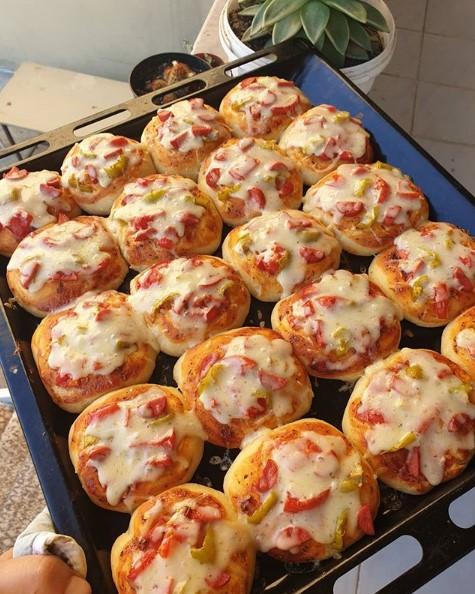 Kahvaltılık pizzalar