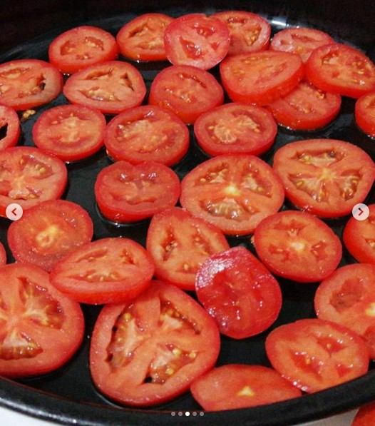 buzlukta dilim domates