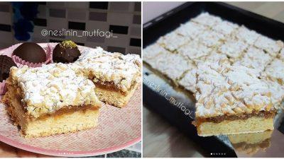 Anne Usulü Elmalı Pasta Tarifi
