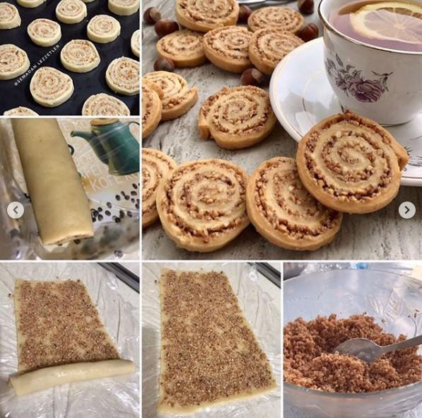 fındıklı kurabiye yapılışı