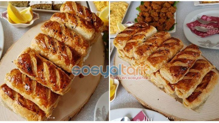 Patatesli Çıtır Milföy Börek