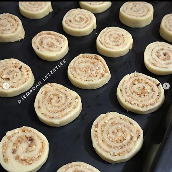 tarçınlı kurabiye yapımı
