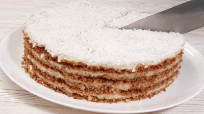 Fırınsız Bisküvisiz Pasta Tarifi