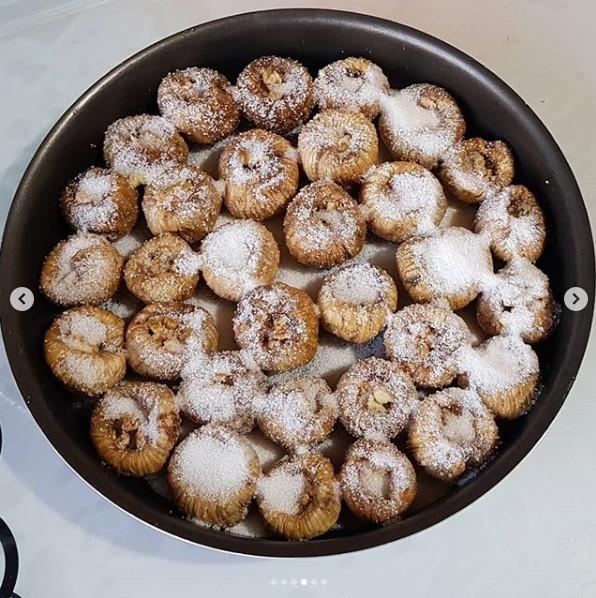 incir tatlısı yapımı