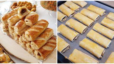 Kıymalı Çıtır Milföy Börek Tarifi