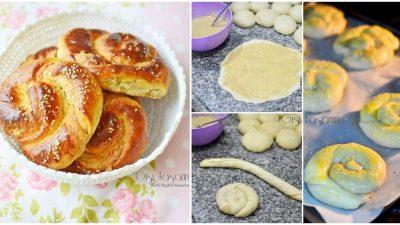 Pastane Usulü Tahinli Çörek Tarifi