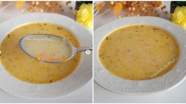Terbiyeli Havuçlu Patates Çorbası
