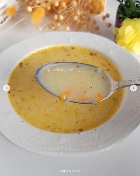 terbiyeli havuç patates çorbası