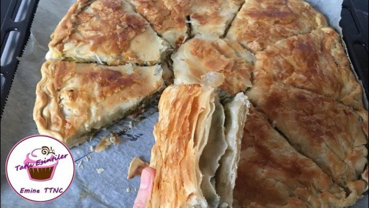 Sadece 2 Beze ile Kat Kat Arnavut Böreği