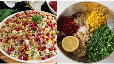 Narlı Buğday Salatası