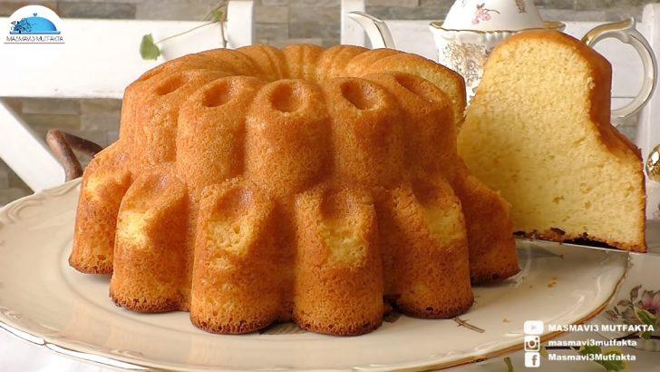 4 Dakikada Portakallı Kek Tarifi