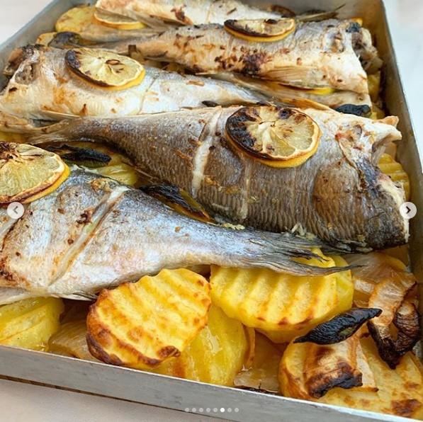 sebzeli çupra balığı yapılışı