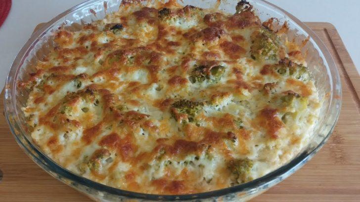 Börek Tadında Fırında Brokoli Tarifi