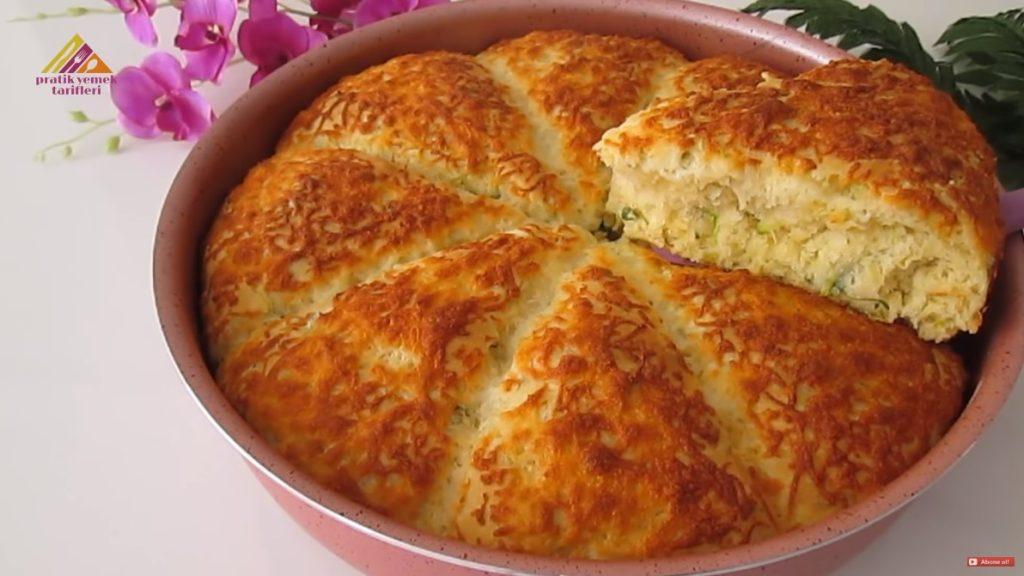 Peynirli Kabaklı Çörek Tarifi