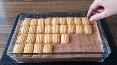 4 Malzemeli Pasta Tarifi