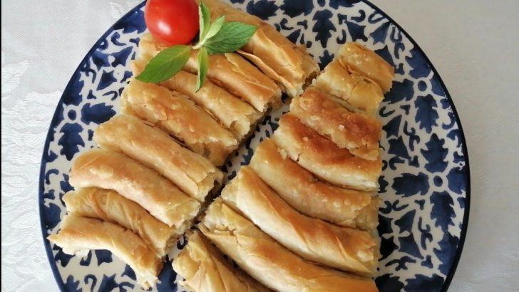 Hazır Yufkadan Patatesli Börek Tarifi