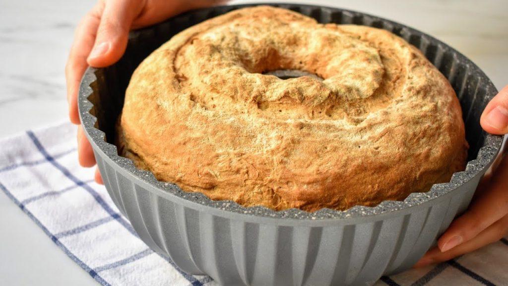 Kek Kalıbında Ekmek Yapımı