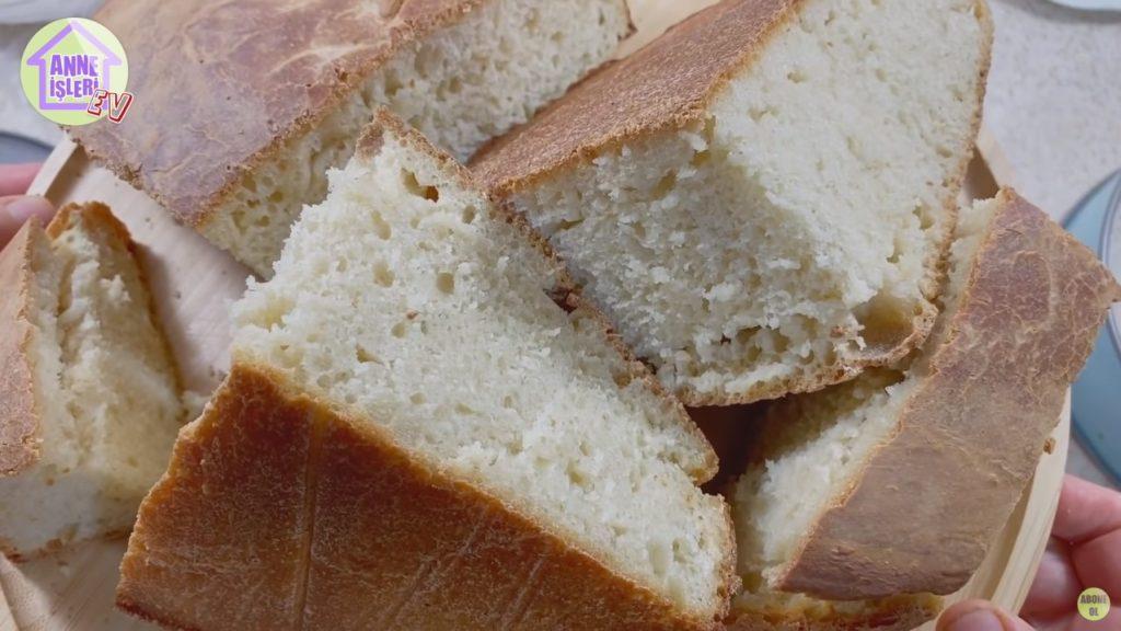 Ekşi Mayalı Tava Ekmeği Tarifi