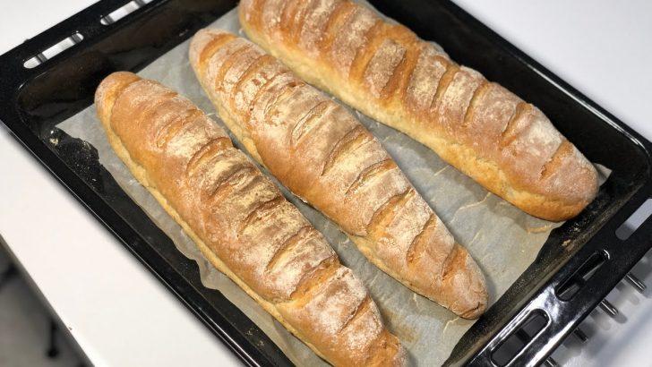Evde Çıtır Ekmek Yapımı