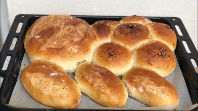 Evde Pratik Ekmek Yapımı