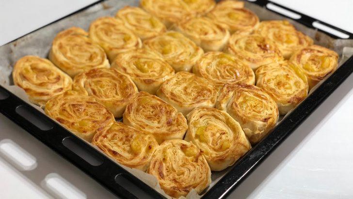 Patatesli Rulo Buzluk Böreği Tarifi