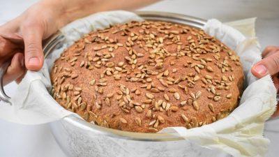 Tencerede Tam Buğday Ekmeği Yapımı