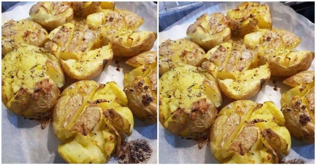 Fırında Çıtlak Patates Tarifi