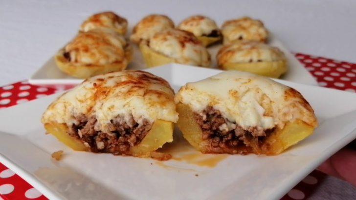 Kıymalı Patates Çanakları