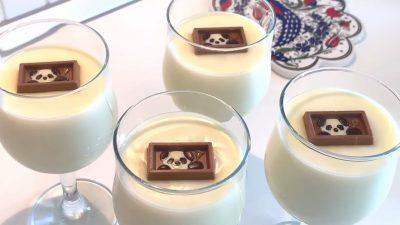5 Dakikada Hazır Pratik Sütlü Tatlı – Sade Muhallebi Tarifi