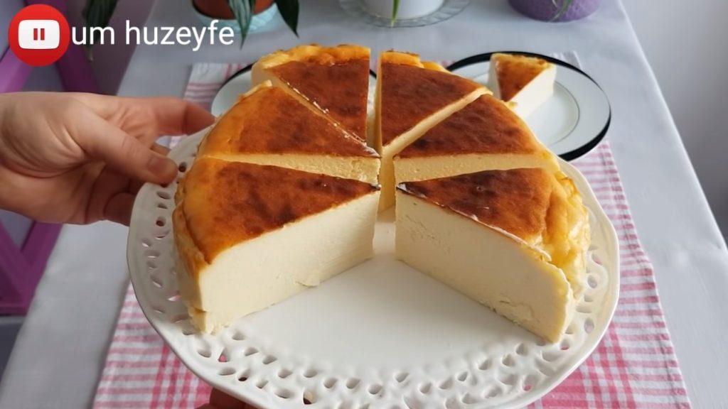 San Sebastian Cheesecake Tarifi