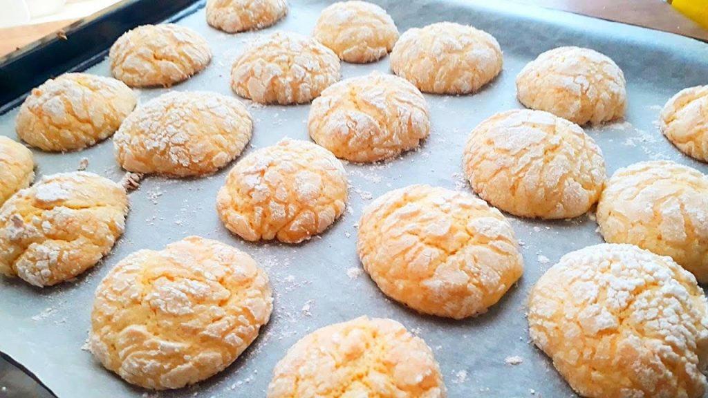 az malzemeli limonlu çatlak kurabiye tarifi