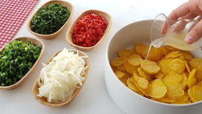 Kızartılmış Patates Salatası Tarifi