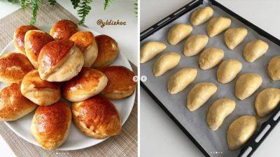 Bayatlamayan Peynirli Pastane Poğaçası Tarifi