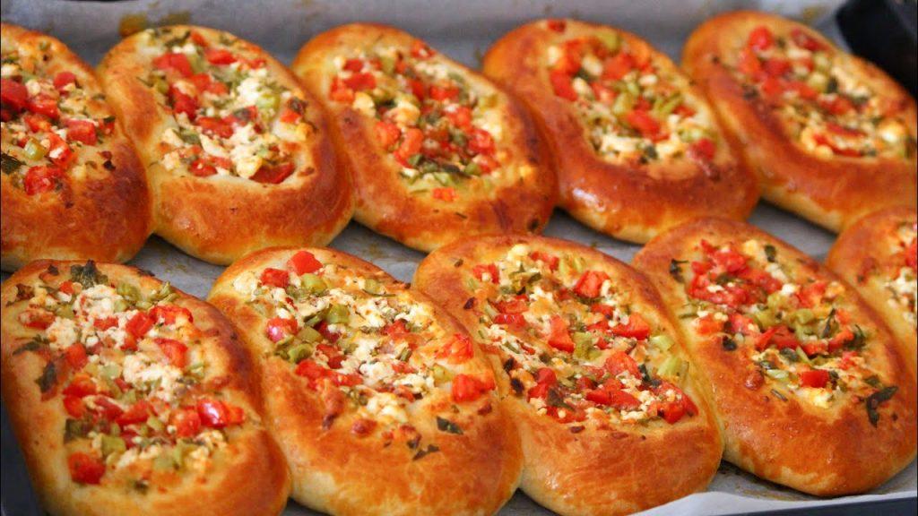 Yumuşacık Pizza Poğaça Tarifi