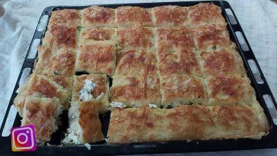 Baklava Yufkasıyla Peynirli Börek Tarifi