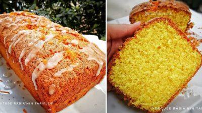 Portakallı Sarı Kek Tarifi