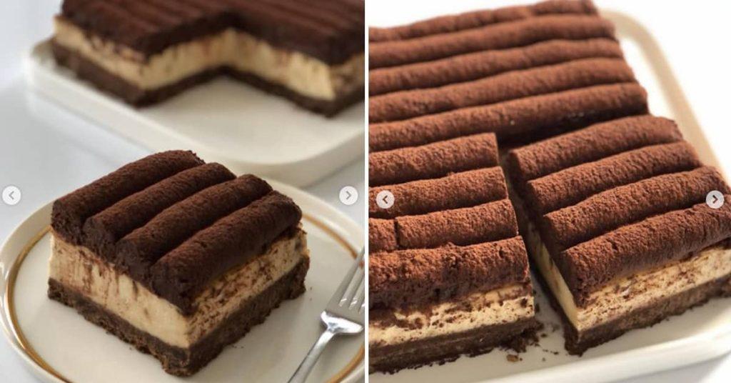 Kahveli Çikolatalı Cheesecake Tarifi