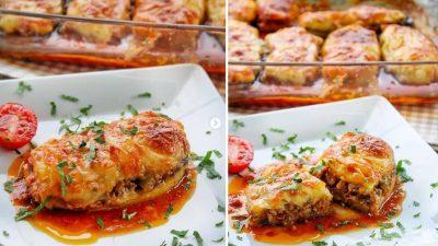 Patates Püreli Patlıcan Kebabı Tarifi