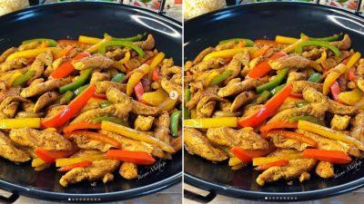 Tavuk Fajita Nasıl Yapılır?