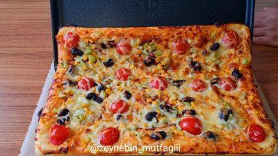 Tepside Pratik Pizza Yapılışı