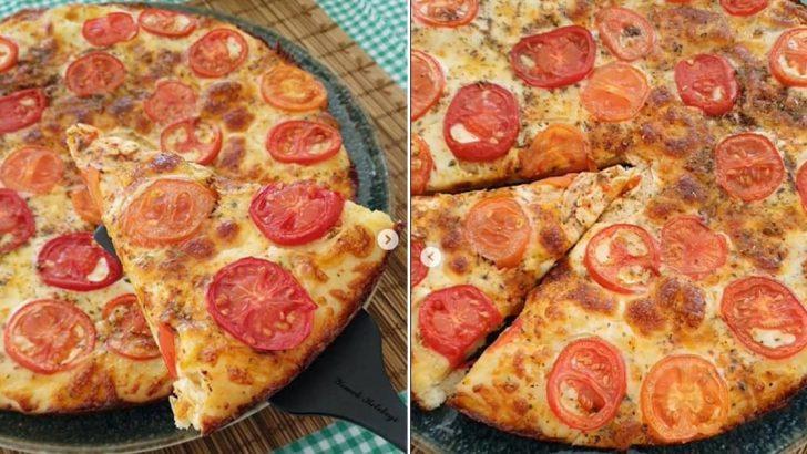 Domatesli Kekikli Pizza Tarifi
