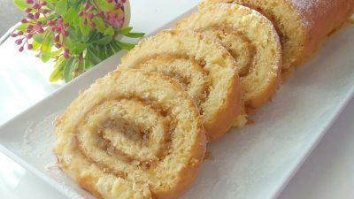 Kırılmadan Çatlamadan Elmalı Rulo Pasta Yapılışı