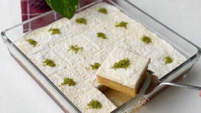 Ekmek Kadayıfı Tadında Karamel Şerbetli Muhallebili Borcam Tatlısı Tarifi