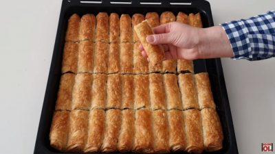 Hazır Yufkadan Kıymalı Çıtır Börek Tarifi