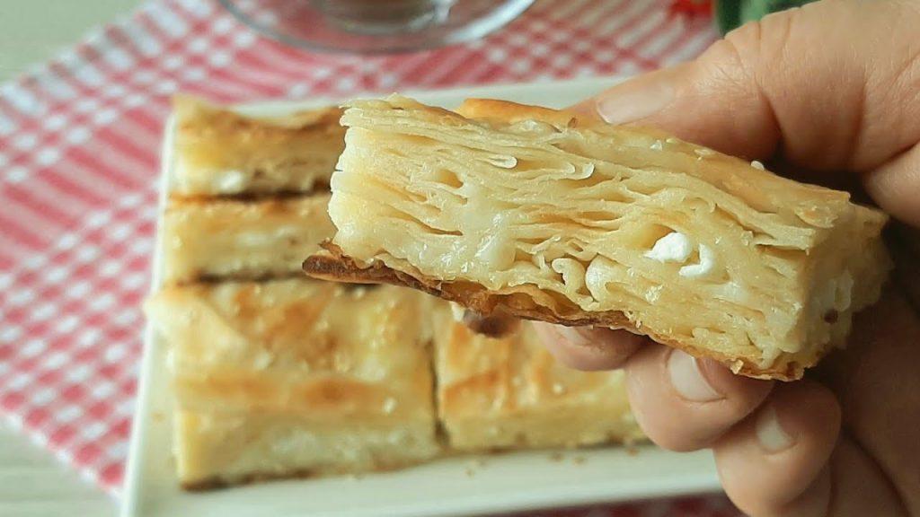Katları Tek Tek Sayılan Su Böreği Tadında Tavada Peynirli Börek Tarifi